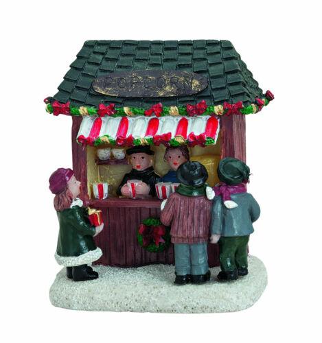 vignettes Marché de Noël Ver 56752-42 weihnachtdorf Popcorn stand