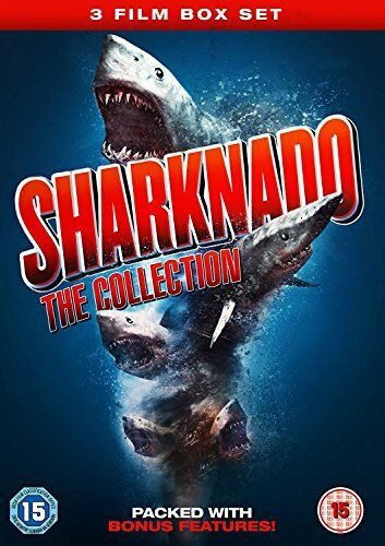 Sharknado Collection 1-3 Boxset [DVD][Region 2]