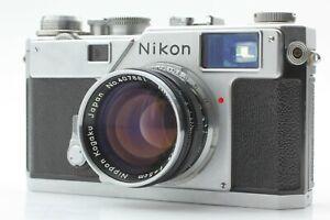 FedEx-EXC-Nikon-s3-Entfernungsmesser-mit-Nikon-5cm-50mm-f1-4-Nikkor-S-aus-Japan