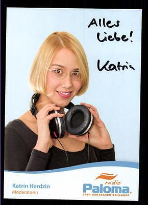 2019 Neuer Stil Katrin Herdzin Autogrammkarte Original Signiert ## Bc 55338 HeißEr Verkauf 50-70% Rabatt