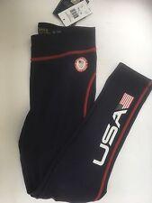 Polo Ralph Lauren Team USA Navy 2016 Olympics Leggins Pants Junior Sz.XL/16  NWT