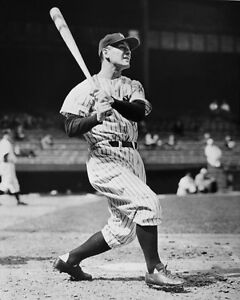 New-York-Yankees-LOU-GEHRIG-Glossy-8x10-Photo-Baseball-Print-Poster