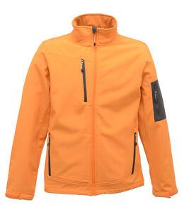 oranje Showerproof Softshelljack Windbestendig met Regatta lagen 3 ademend Yw0vOq8