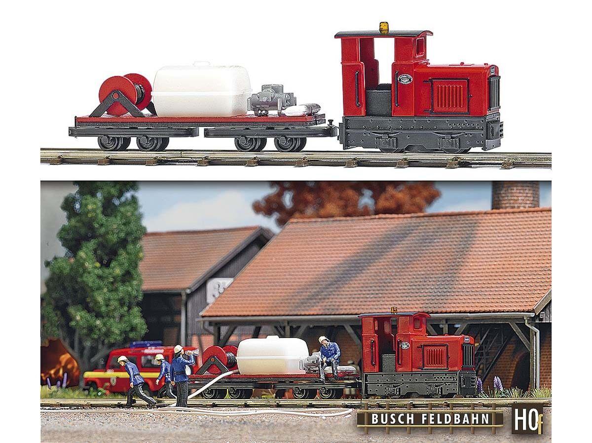 Busch - 12119 h0f campo Bahn-pompieri