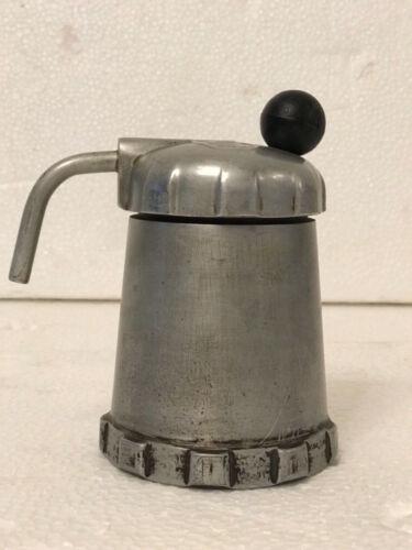 MALTONI collezione PAG. 598 OLD CAFFETTIERA MOKA COFFEE MAKER GOMBA ALLUMINIO