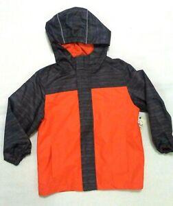 805c5f9d9db51 Faded Glory Boy's Hooded Rain Jacket Zip up NWT SZ: XS (4-5), XL (14 ...