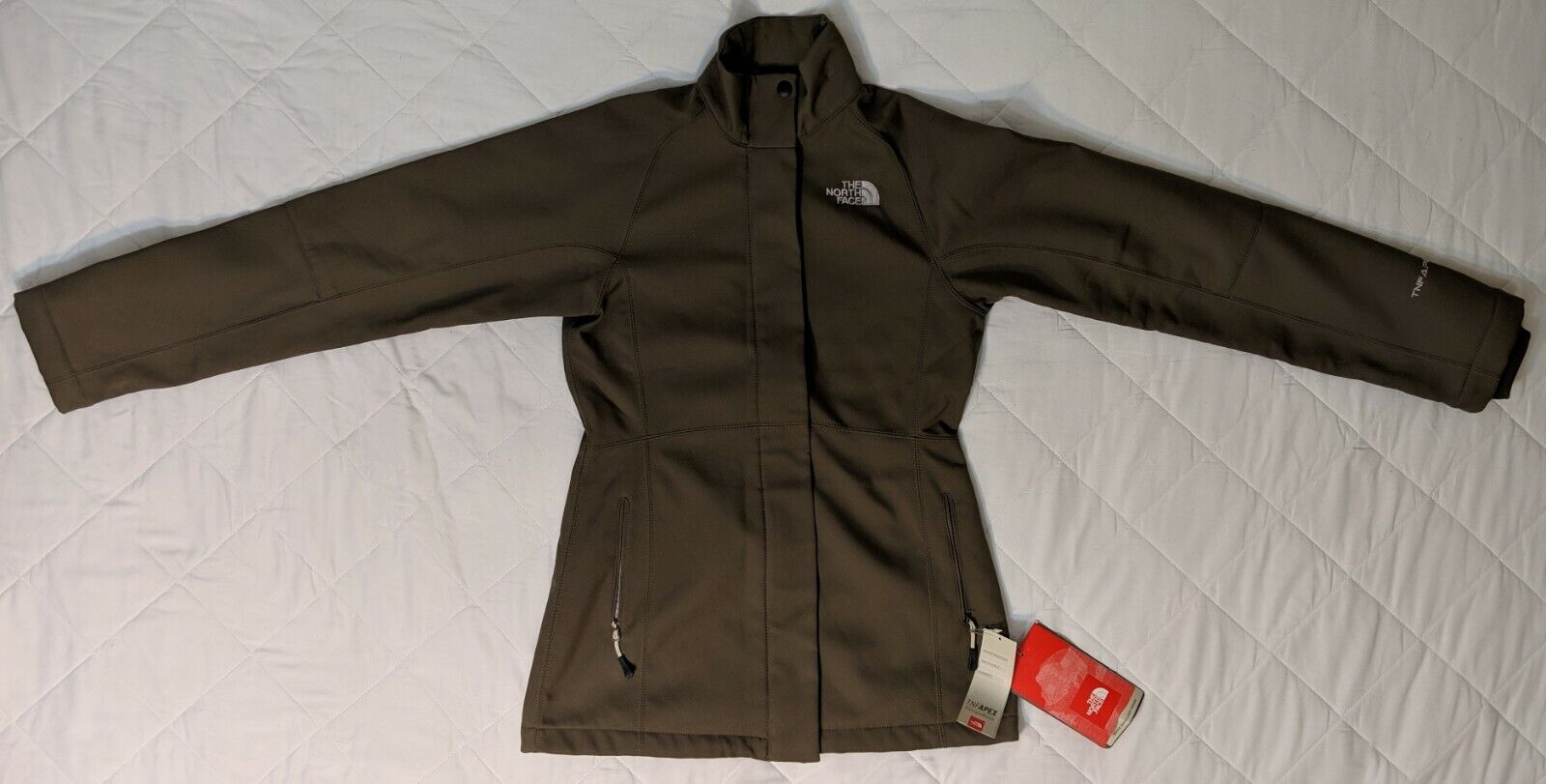 New Womens The North Face Aphrodite Brown XS & S