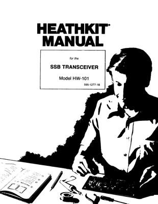 Heathkit HW 101 Ham Radio SSB Transceiver Assembly Operation Digital Manual EBay