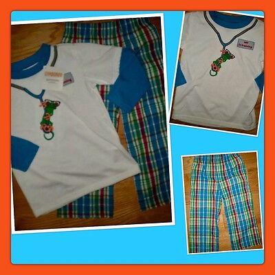 4 New with tags,Gymboree Gymmies long sleeve pajama set,size 3