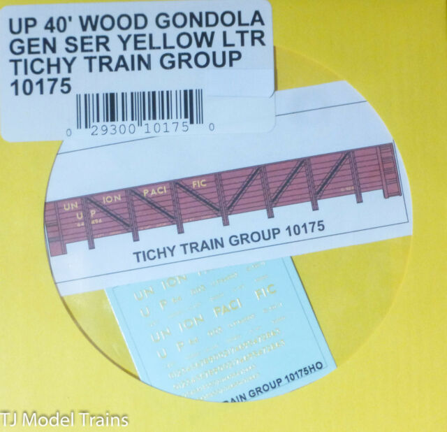 Tichy Train Group #10121 Decal for Chicago /& North Western USRA 40/' Wood Stock