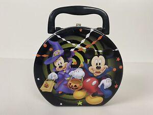 Tin Box Co Disney Mickey & Minnie Mouse Halloween Mini Tin Lunch Box 2013