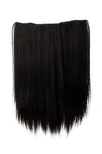 Postiche-large-Extensions-cheveux-5-Clips-lisse-Braun-brun-fonce-45cm-L30173-3