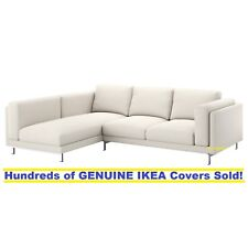 Nockeby Sofa ikea nockeby sofa with chaise left cover slipcover tallmyra light