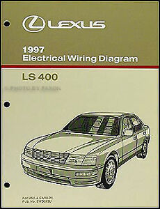 1997 lexus ls 400 wiring diagram manual new original ls400 oem rh ebay ie 1997 lexus es300 radio wiring diagram 1997 lexus es300 radio wiring diagram