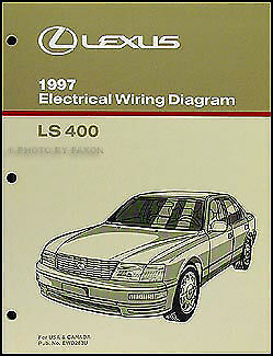 1997 Lexus LS 400 Wiring Diagram Manual NEW Original LS400 ...