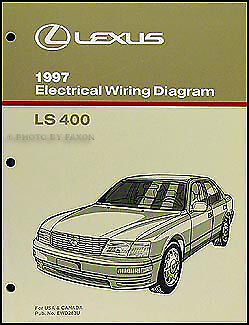 1997 lexus ls 400 wiring diagram manual original ls400 oem rh ebay com