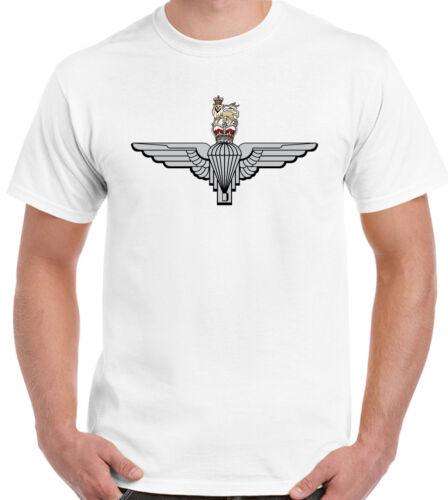 Paras SFSG The Parachute Regiment Cap Badge Mens T-Shirt 1 2 3 4 10 Para Regt