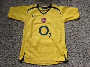 online store d7c48 85ac0 Details about Arsenal 05/06 youth Large Away kit/jersey - boys 2005/2006