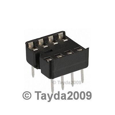 10 x 8 pin DIP IC Sockets Adaptor Solder Type Socket