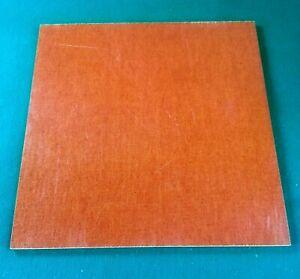 """20 Pcs 3/8"""" Brown Canvas Micarta Knife Handle Material 12"""" X 12"""" X .375"""" - Feuille-afficher Le Titre D'origine"""