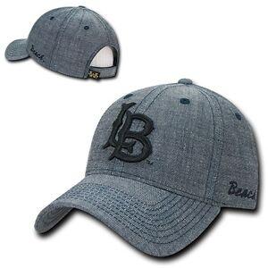 Cal-State-Long-Beach-49ers-University-Structured-Denim-CSULB-Baseball-Cap-Hat