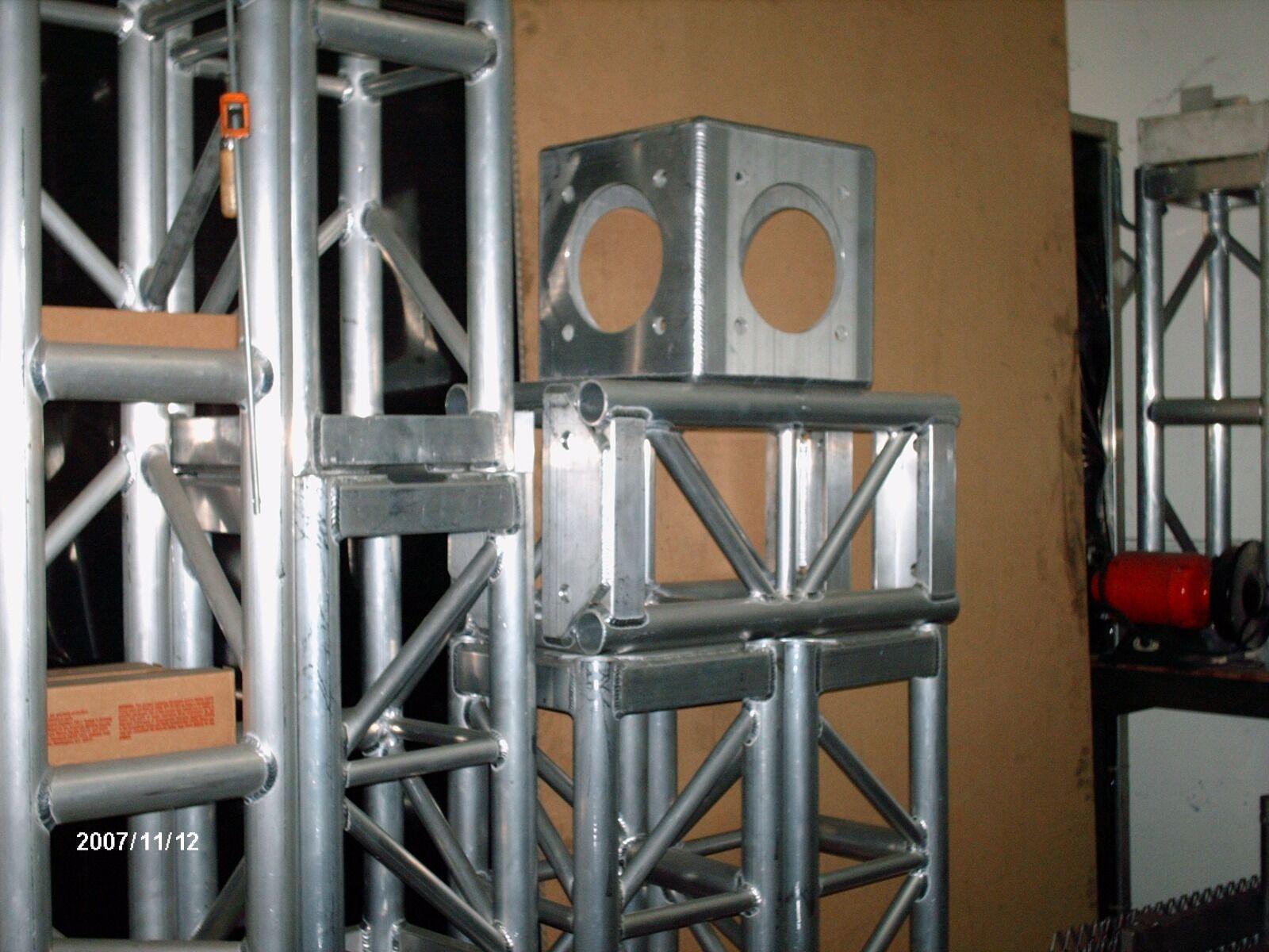 Aluminium Würfel Ecken 12 x12