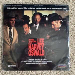 Details about The Trial Of Lee Harvey Oswald Laserdisc - VERY RARE JFK -  BRAND NEW