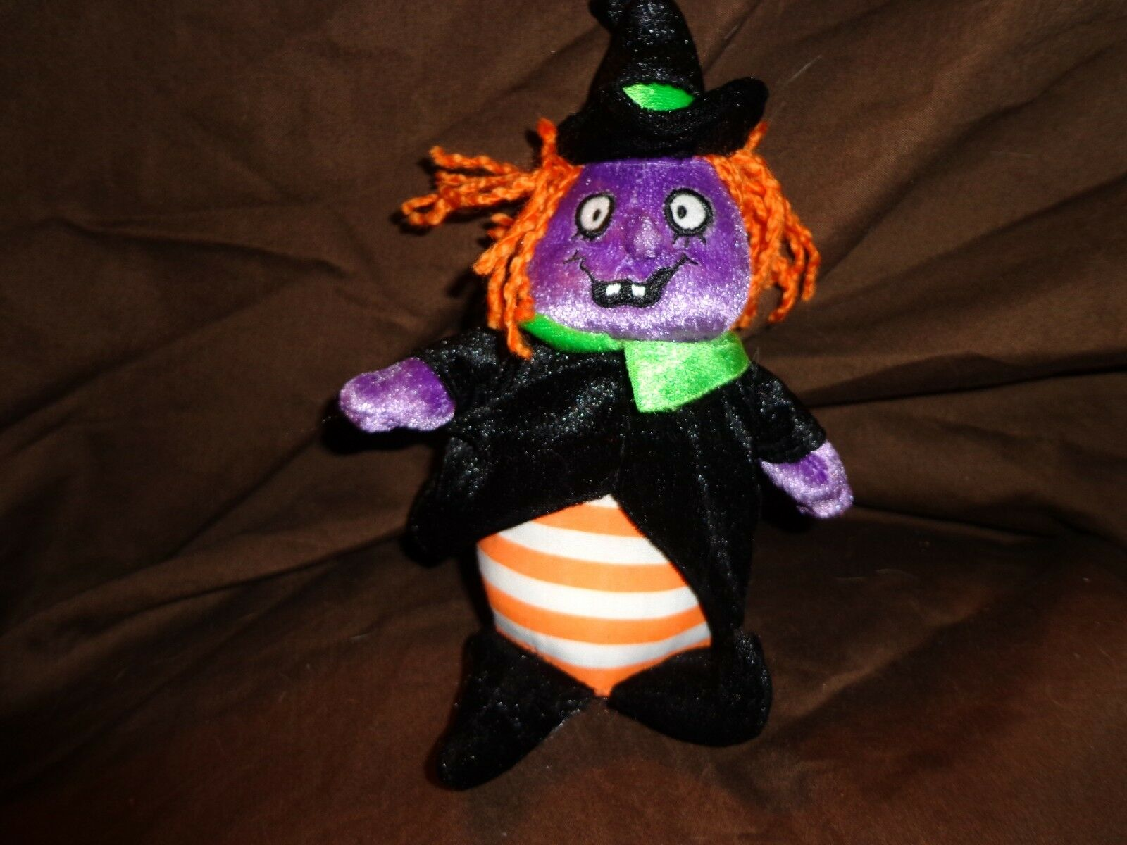 2006 Princess Eerie Sound Pull String Witch Plush Soft Toy Stuffed Animal