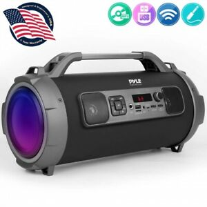 Pyle-PBMKRG155-Bluetooth-Wireless-500W-Portable-Rechargeable-Boom-Box-Speaker
