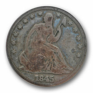 1845-O-50C-Seated-Liberty-Half-Dollar-ANACS-G-6-RPD-Repunched-Date-WB-104-FS-301
