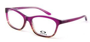 5d1328dfe0 NEW Oakley Taunt OX1091-0352 52mm RX Eye Glasses Gloss Pink Fade ...