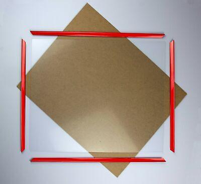 Kunststoff Bilderrahmen Rot Styx Größenwahl Mengenrabatt Günstig