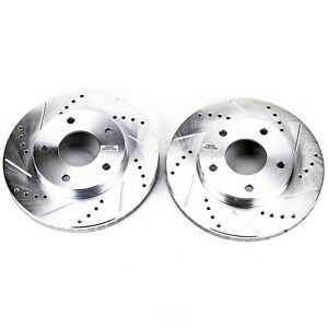 Disc Brake Rotor Set Front Power Stop AR8213XPR