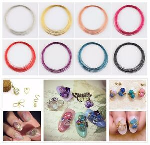 5M-DIY-Mix-Color-Roll-Striping-Tape-Metal-Copper-Wire-Design-Nail-Art-Decoration