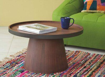 Habitat Habitat Brodi Wood Veneer Coffee Table Ash Black Ebay