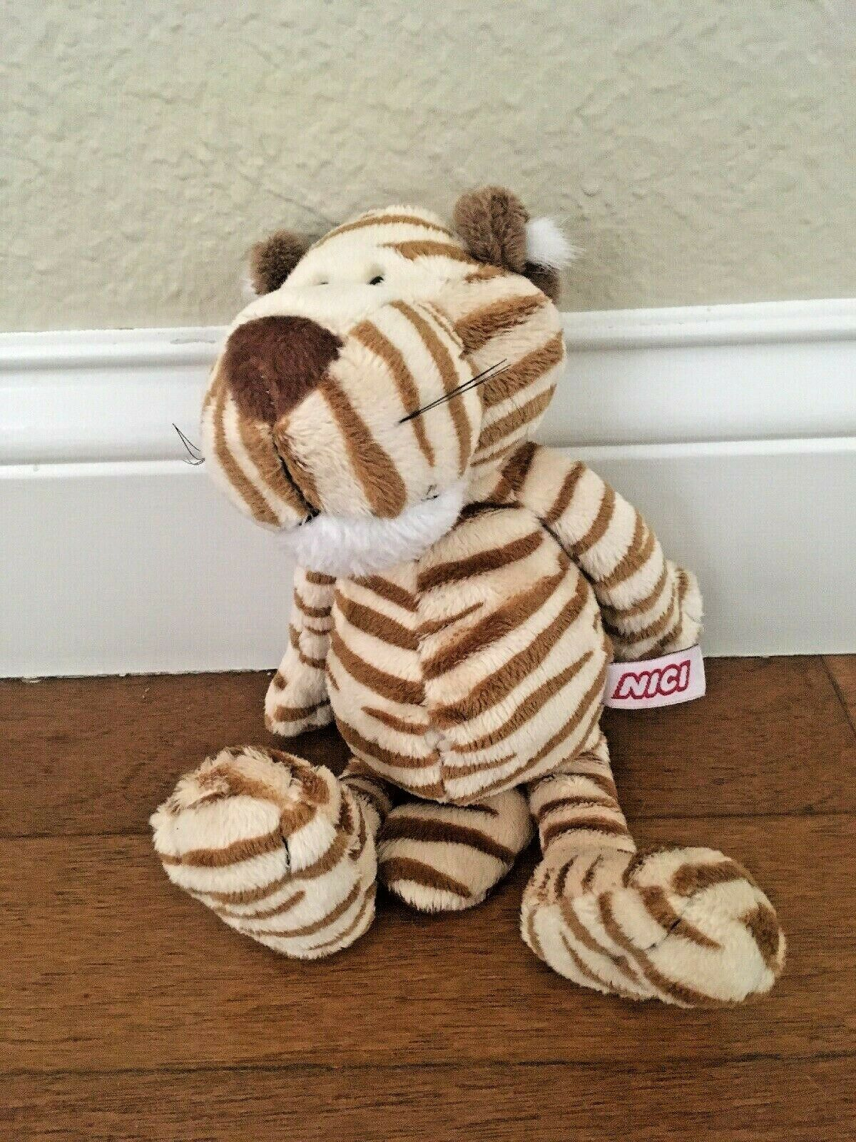 NWT NICI Germany Plush Dangling Tiger- Rare