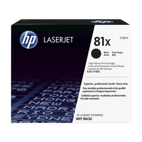 MOSTLY New Genuine HP 81X Laser Cartridge Toner Printer-Tested 80/% Toner NO BOX