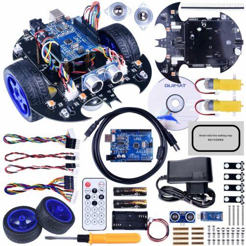 Uno R3 Board, Quimat Arduino Projekt Mit Zweiradantrieben Smart Robot Car Kit