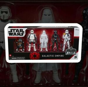 Star Wars Celebrate the Saga Action Figures 5-Pack Galactic Empire Hasbro 10 CM