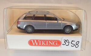 Wiking 130 02 23 Audi A6 Avant in rot mit OVP #17