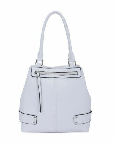 New Womens Multipockets Faux Leather Handbag Tote Hobo Shopper Shoulder Bag
