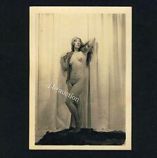 EXCEPTIONAL NUDE MODEL / AUSSERGEWÖHNLICHES AKT MODELL * Vintage 1920s Photo #3