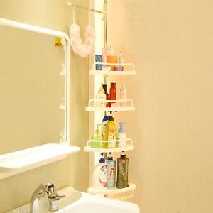 Bath shower caddy accessory rack holder corner shelf for Bathroom 94 percent