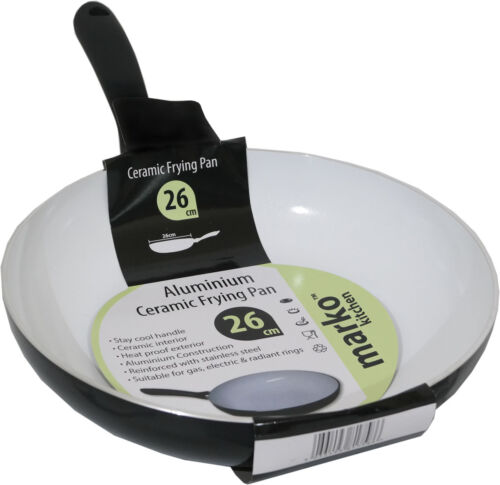 Ceramic Frying Pan Non Stick Coated Cooking Frypan Surface Bakeware Kitchen New