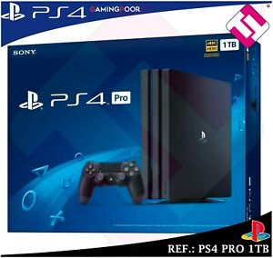 VIDEOCONSOLA-SONY-PS4-PLAYSTATION-4-1TB-PRO-CONSOLA-CUH-7216B-JET-BLACK-NUEVA