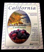 California Bed & Breakfast Cookbook Innkeeper Recipes Breads Entrees Brunch More