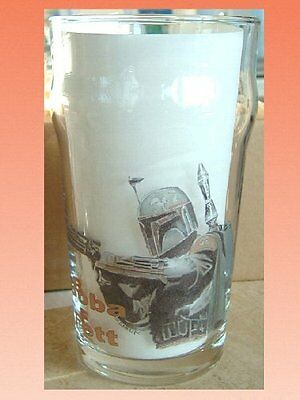 STAR WARS Boba Fett PINT SIZE BEER GLASS