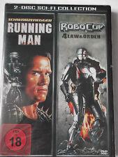 The Running Man - Arnold Schwarzenegger, Richard Dawson & Robocop Law and Order