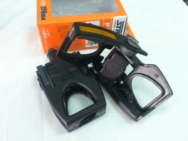 Strida folding pedal,  ST-PDS-001, Alloy, Hybrid/Comfort Bike