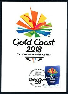 2018-XXI-Commonwealth-Games-Gold-Coast-Queensland-Maxi-Card-1